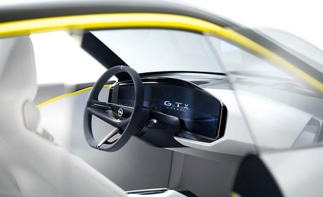 Opel GT X Experimental Concept - interior