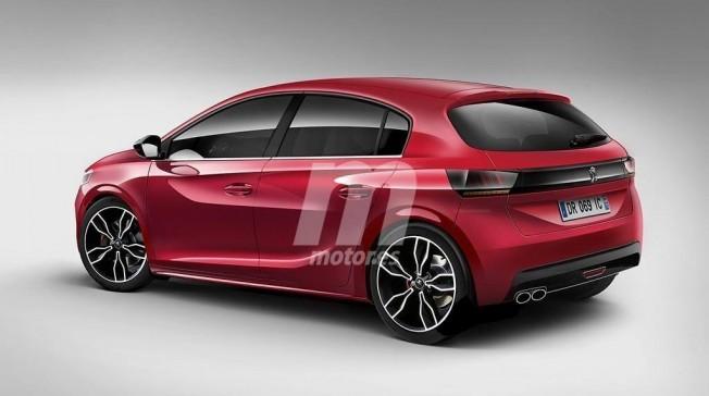 Peugeot 208 2019 - posterior