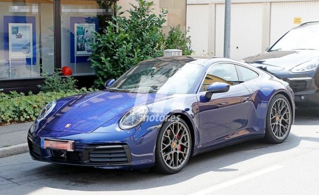 Porsche 911 2019 - foto espía