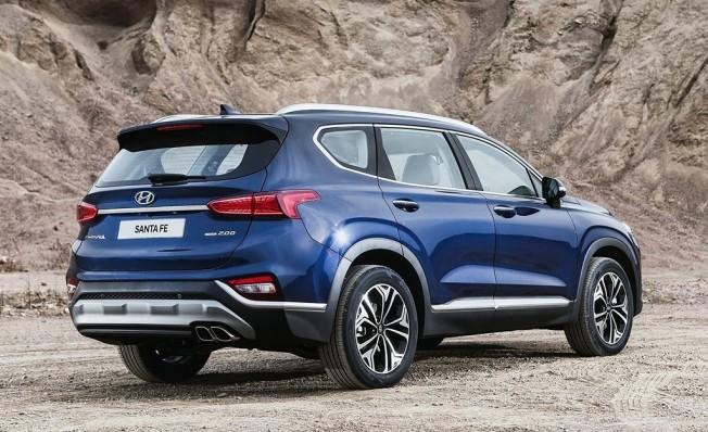 Hyundai Santa Fe 2019 - posterior