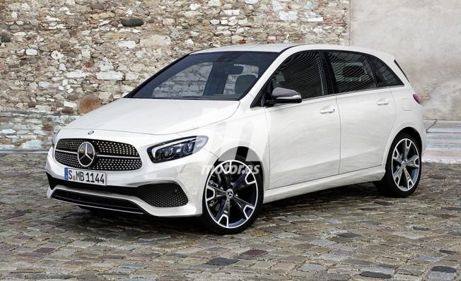 Mercedes Clase B 2019 - recreación