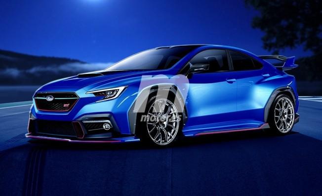 Subaru WRX STI 2020 - recreación