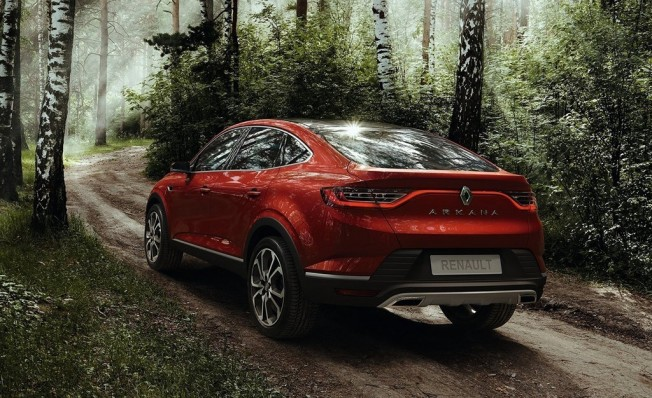 Renault Arkana 2019 - posterior