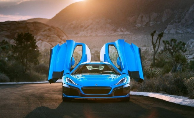 Rimac C_Two California Edition - frontal