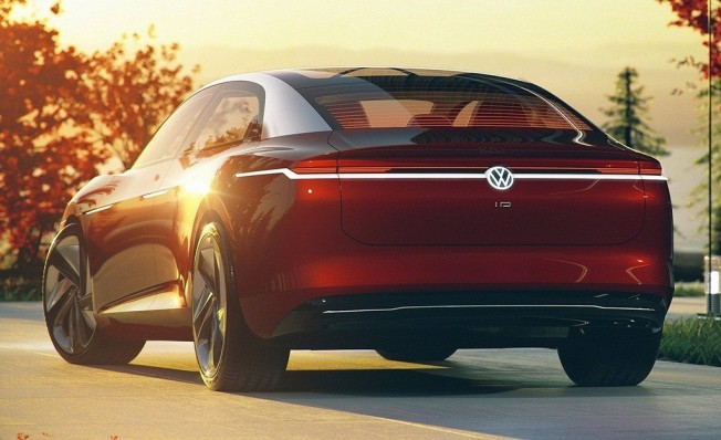 Volkswagen I.D. Vizzion Concept - posterior