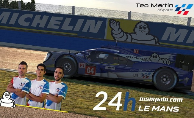 Teo Martín eSports - 24 Horas de Le Mans