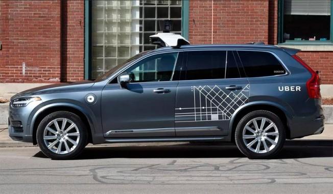 Prototipo de coche autónomo de Uber
