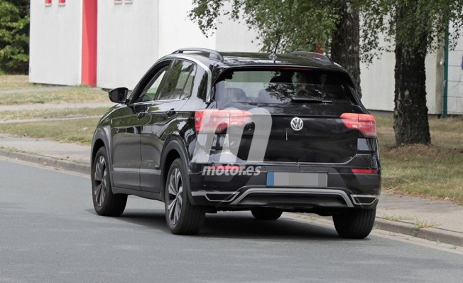 Volkswagen T-Cross 2019 - foto espía posterior