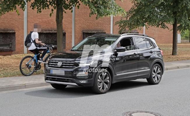 Volkswagen T-Cross 2019 - foto espía