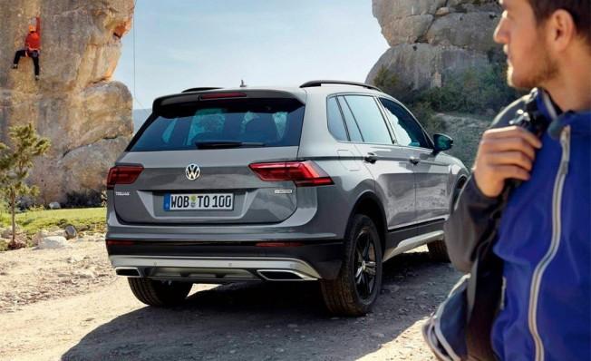 Volkswagen Tiguan Offroad - posterior