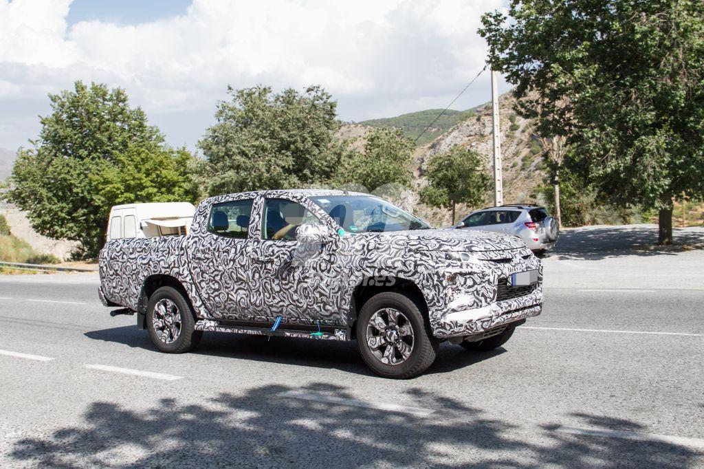 Mitsubishi L200: las primeras imágenes del facelift del pick-up