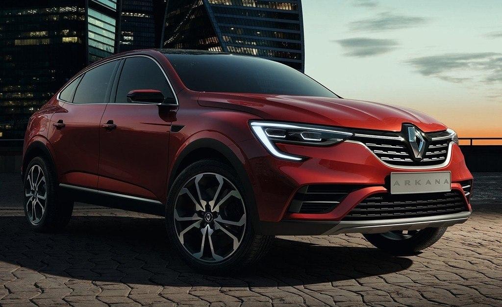 Renault Arkana 2019, el nuevo SUV Coupé se presenta en sociedad