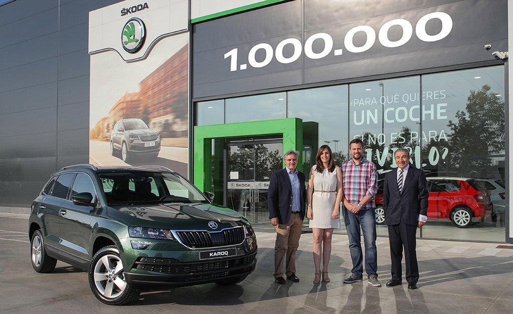 El SUV un millón de Skoda es un Karoq y tiene como destino España