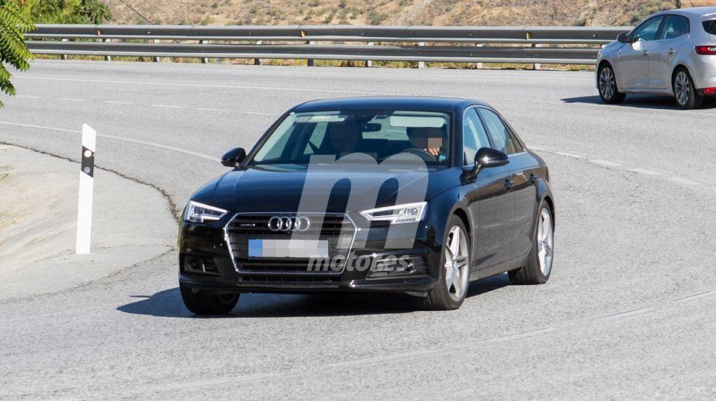 Nuevas fotos espía desvelan el nuevo diésel Audi A4 50 TDI quattro