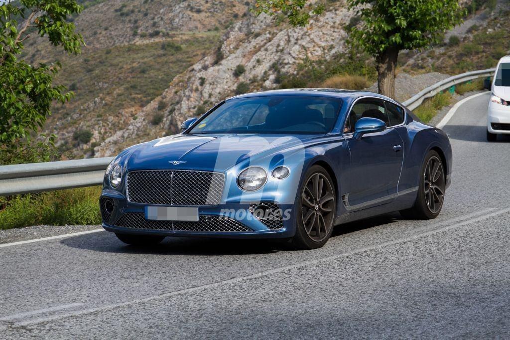 El nuevo Bentley Continental GT Hybrid al descubierto, ¡cazada la versión híbrida!