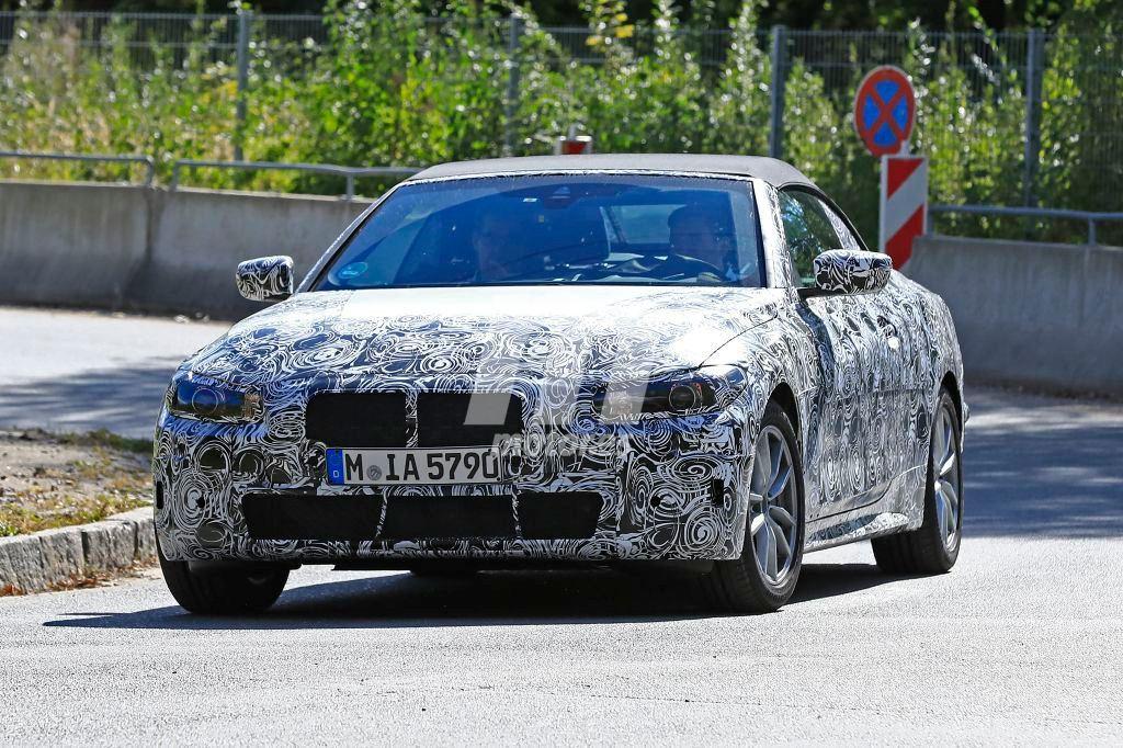 El nuevo BMW Serie 4 Cabrio cazado de nuevo durante sus pruebas