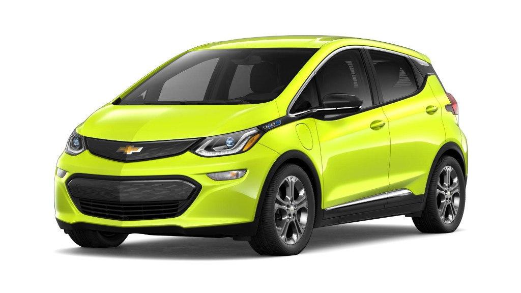Los colores fluorescentes llegan a la gama Chevrolet 2019