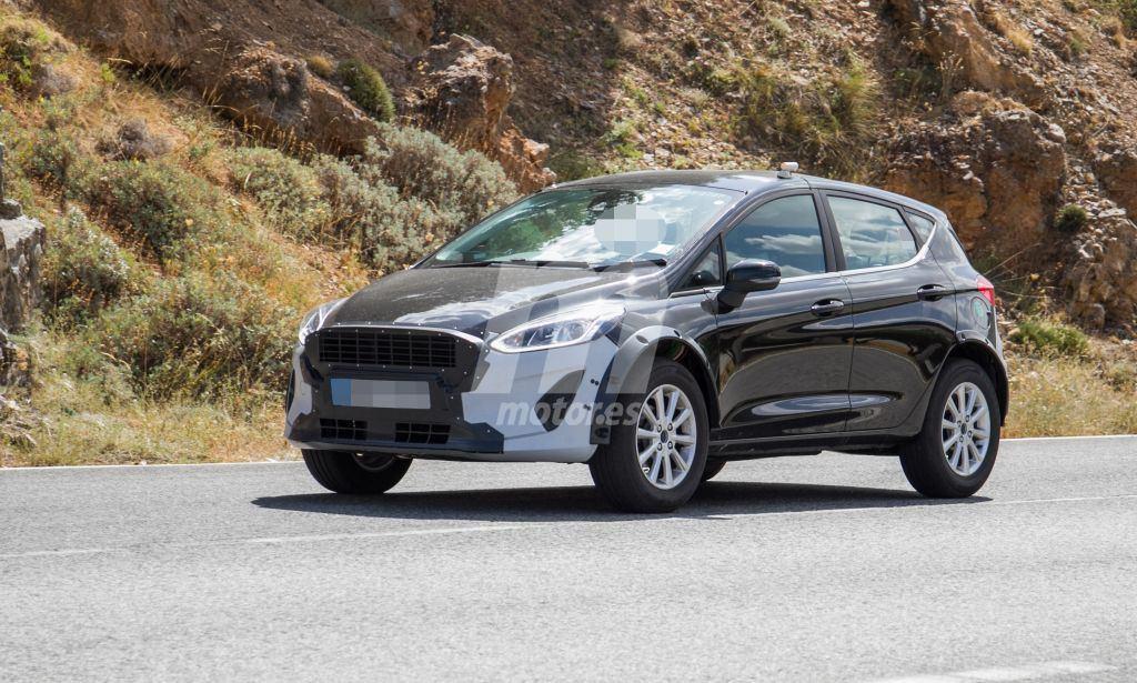 El futuro B-SUV de Ford cazado de nuevo en Europa