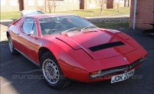Puedes hacerte con un pedazo del Maserati Merak de Jeremy Clarkson