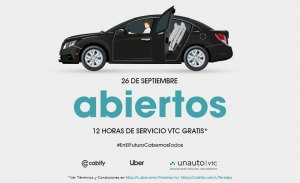 La jornada de VTC gratis muere de éxito: Uber y Cabify, colapsados