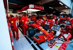 Doblete de Ferrari antes de la clasificación