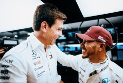 """Hamilton, sobre su vuelta de pole: """"Parecía magia, no sé de dónde salió"""""""