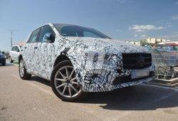 Mercedes EQB: las primeras imágenes del futuro compacto eléctrico