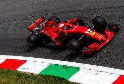 """Vettel: """"Tuve suerte de terminar segundo en lugar de tercero"""""""