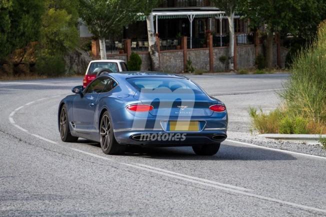 Bentley Continental GT Hybrid - foto espía posterior