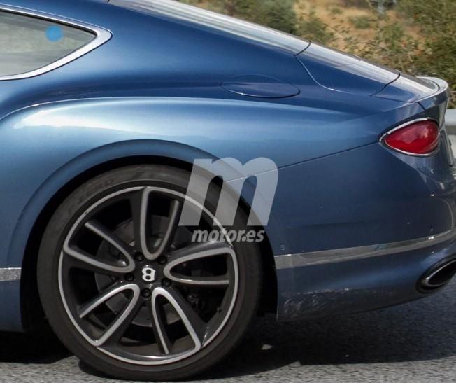 Bentley Continental GT Hybrid - foto espía