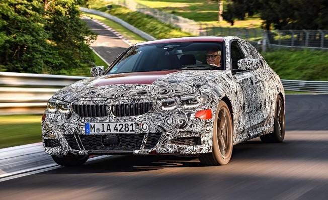 BMW Serie 3 2019 - adelanto en Nürburgring