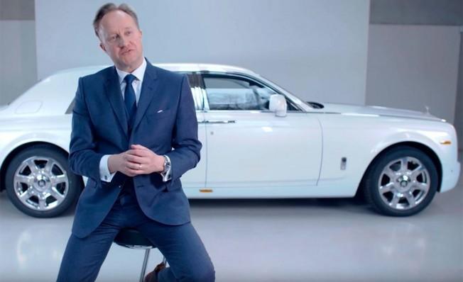 Giles Taylor, ex-Director de Diseño de Rolls-Royce