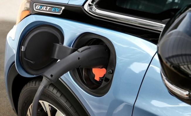 Chevrolet Bolt cargando sus baterías