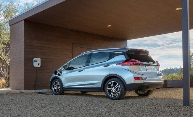 Chevrolet Bolt, uno de los coches eléctricos de GM