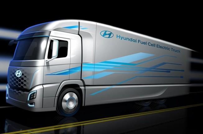 Hyundai adelanta su camión de hidrógeno