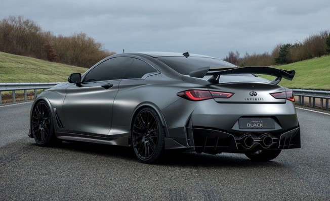 Infiniti Project Black S Prototype 2017