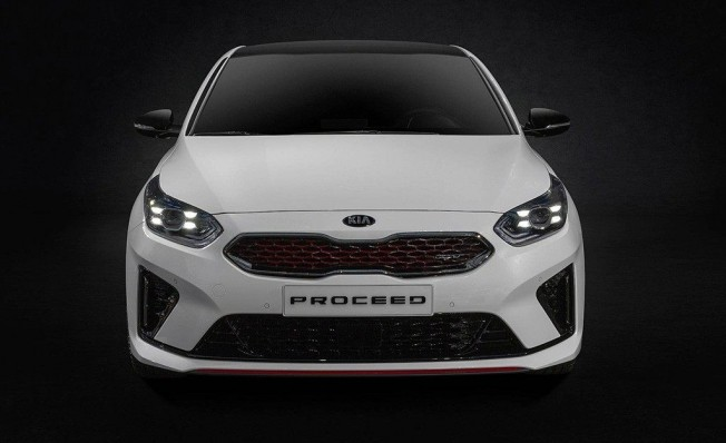 Kia ProCeed GT - frontal