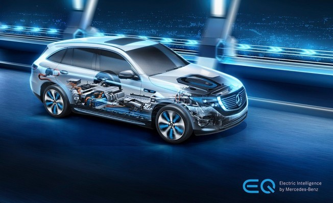 Mercedes EQC - mecánica