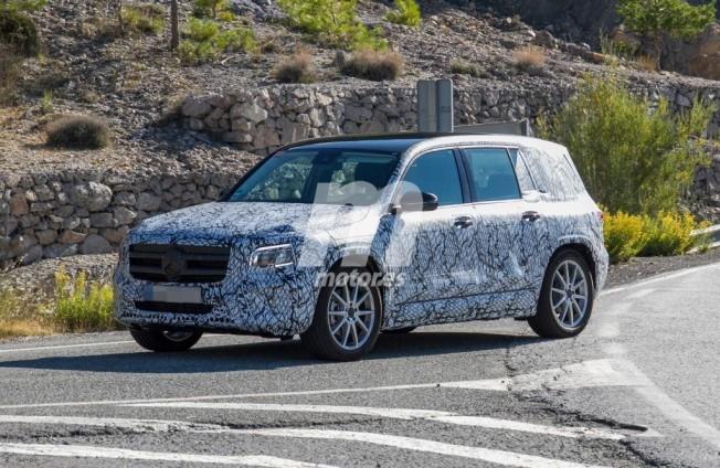 Mercedes Clase GLB 2019 - foto espía