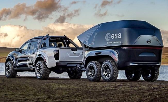 Nissan Navara Dark Sky Concept - posterior