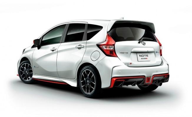 Nissan Note e-Power Nismo S - posterior