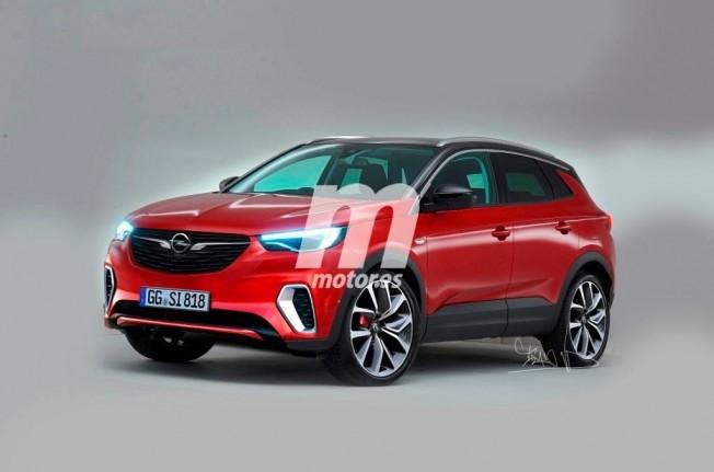 Opel Grandland X GSi - recreación