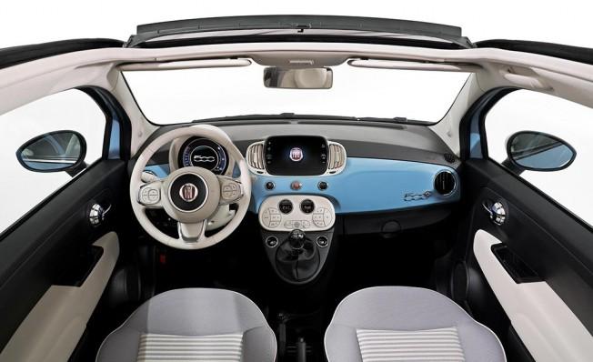 Fiat 500 Spiaggina '58 - interior