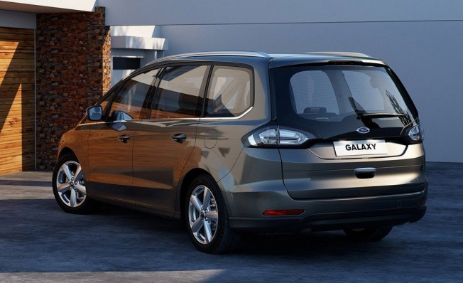 Ford Galaxy - posterior