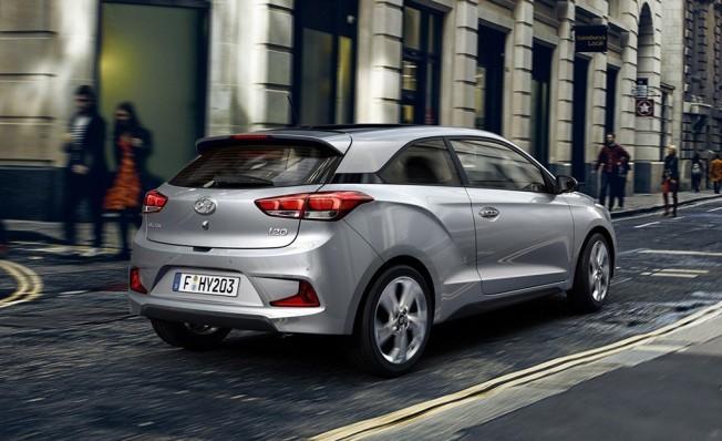 Hyundai i20 Coupé 2018 - posterior
