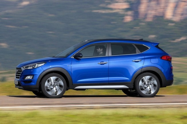 Hyundai Tucson 2019 - lateral