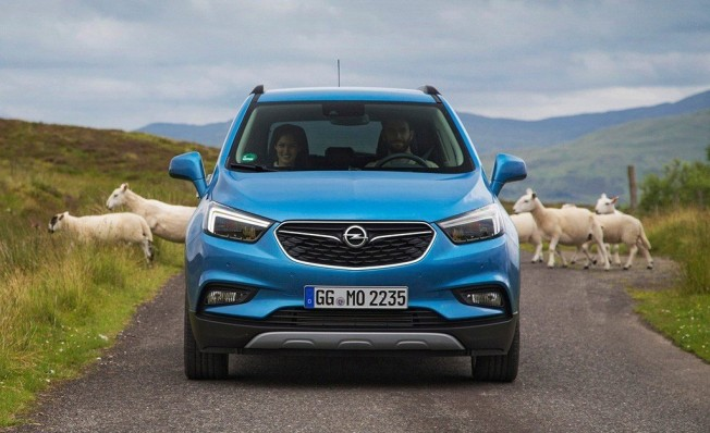 Opel Mokka X - frontal