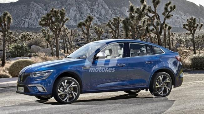 Recreación del Renault SUV Coupé