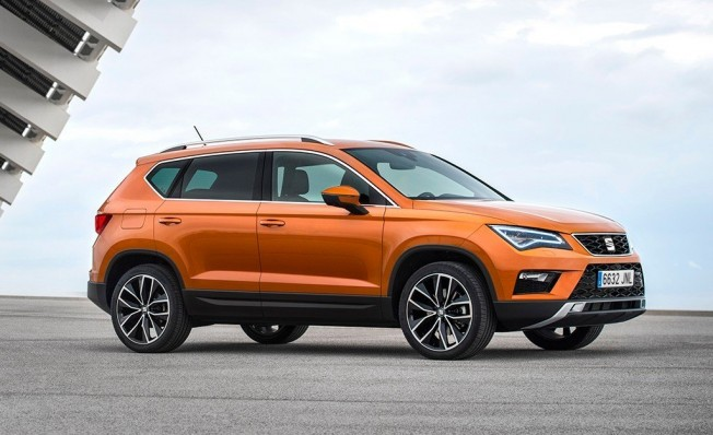 SEAT Ateca - lateral