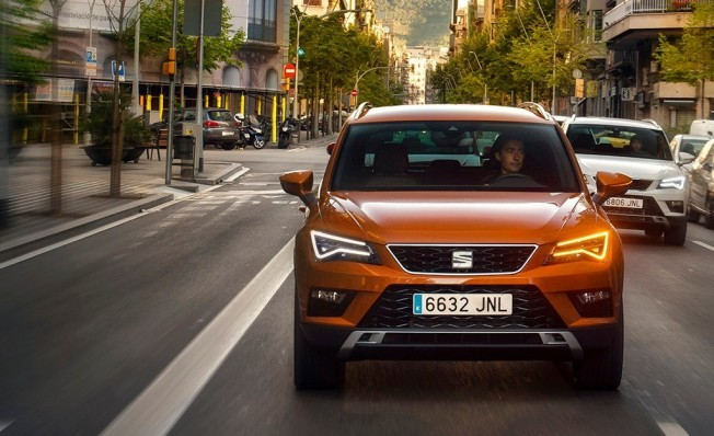 SEAT Ateca - frontal